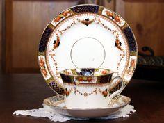 Reids Imari Bone China Trio Teacup Tea Cup and by TheVintageTeacup