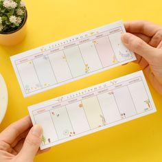 12 pcs/Lot Mini week planner stickers Kawaii animal flower sticky notes Posted agenda Stationery Office School supplies 6159 #Affiliate