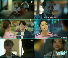 monk myung at professor hye sung office and found hyun ji id- Let's Fight Ghost…
