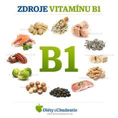 Zdroje vitamínu B1 #zdravie