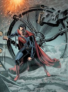 Superman - Man of Steel by Jerry Ordway *