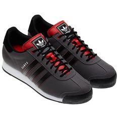 adidas samoa black&red
