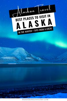 Is Alaska on your bucket list? Discover the best places to visit in Alaska + 15 reasons to visit Alaska in winter that will have you heading north to play in the snow and watching the Aurora. I things to do in Alaska I USA travel I what to do in Alaska I winter in Alaska I where to go in Alaska I places to go in Alaska I Alaska attractions I winter travel in Alaska I when to visit Alaska I local tips for Alaska I Alaska local travel tips I activites to do in Alaska in winter I #Alaska