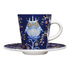 owl tea cup and saucer