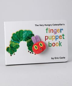 The Very Hungry Caterpillar's Finger Puppet Board Book