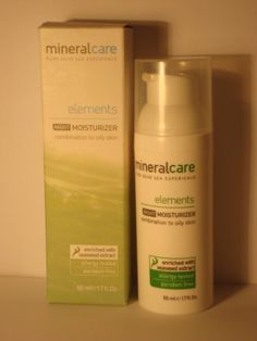 NIGHT MOISTURIZER COMBINATION TO OILY SKIN MINERAL CARE *** Details can be found by clicking on the image.
