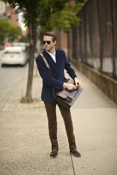 The fourth picture in the article Corduroy boy over at IAMGALLA. Model: Adam Gallagher.