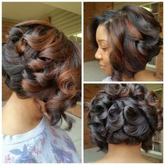 Looking for the best way to bob hairstyles 2019 to get new bob look hair ? It's a great idea to have bob hairstyle for women and girls who have hairstyle way. You can get adorable and stunning look with… Continue Reading → Curly Hair Styles, Natural Hair Styles, My Hairstyle, Relaxed Hair, Love Hair, Looks Style, Fall Hair, Hair Dos, Hair Hacks