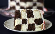 checkered flag cake.. uh, yes please!