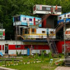 stacked mobile homes???