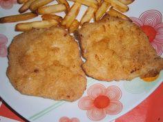 COCINA CON XENA: Filetes empanados en Freidora Cecofry