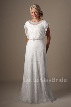 Modest Wedding Dresses : Knightly. Latter Day Bride, Gateway Bridal & Prom