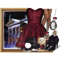 """""""Haunted Mansion"""" by annabelle-95 on Polyvore"""