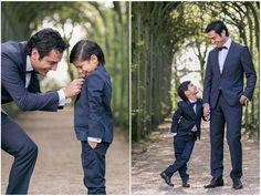 10. Hochzeitstag, Kinder, nachfeiern, Hochzeitsfeier, blauer Anzug, Vater, Sohn, Flora Köln, Foto: Violeta Pelivan
