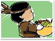 Thanksgiving Coloring Pictures & Pages: Printables for Kids - Thanksgiving Art - Kaboose.com