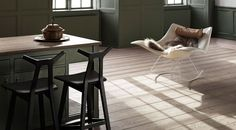 Fredericia - Thomas Pedersen Stingray Rocking Chair Fully Upholstered - Chrome