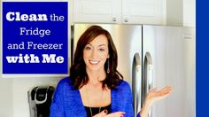 Clean with Me | How to Clean the Fridge and Freezer