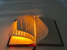 Artist Conjures Real Life Magic Book Featuring Pages That Glow