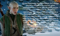 Dragon Age Confessions
