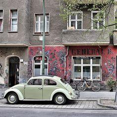Beetle in Berlin, Friedrichshain Berlin Hotel, Berlin Street, Berlin Germany, Berlin Berlin, Berlin Nightlife, Berlin Photography, The Second City, City Aesthetic, Berlin Wall