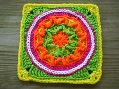 Ravelry: cajunflower23's circles of the sun- mystery cal 2015
