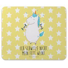 Mauspad Druck Einhorn Fitness aus Naturkautschuk  black - Das Original von Mr. & Mrs. Panda.  Ein wunderschönes Mouse Pad der Marke Mr. & Mrs. Panda. Alle Motive werden liebevoll gestaltet und in unserer Manufaktur in Norddeutschland per Hand auf die Mouse Pads aufgebracht.    Über unser Motiv Einhorn Fitness  Das Fitness-Einhorn ist das beste Geschenk für Fitness-Freaks. Aber auch für diejenigen, die sich einfach nicht aufraffen können. Für diejenigen ist das Fitness-Einhorn die seelische…
