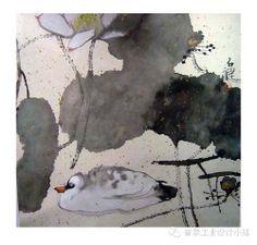 【禅画】一代艺术全才-弘一法师画作欣赏#painting#chinese Sumi E Painting, Lotus Painting, Korean Painting, Japan Painting, Chinese Painting, Chinese Art, Chinese Brush, Lotus Art, Tinta China