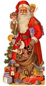 large die cut Christmas And New Year, Christmas Holidays, Holiday Postcards, Ronald Mcdonald, Decoupage, Princess Zelda, Fictional Characters, Image, Papa Noel