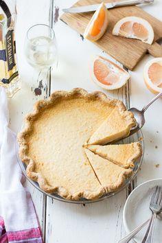 Grapefruit Custard Pie