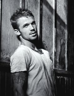 soo in love with him.. He even has a tattoo and dimples! Ah marry me!!
