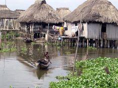 Cité lacustre de Ganvié, Bénin, ..