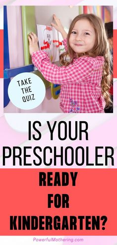 When it comes to kindergarten readiness, what skills can a child gain by attending an academic preschool? Check out the blog for more information on a little quiz to help you decide your stance on whether or not your little one is ready for the next step of schooling! This short test will surely allow you to assess your child's readiness without the added pressure of an audience! #preschooler #graduation #kindergarten Toddler Preschool, Toddler Crafts, Preschool Activities, Educational Activities, Art Activities, Your Child, Before Kindergarten, Speech Delay, Graduation