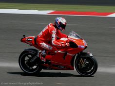 Casey Stoner, Ducati British Moto GP 2010