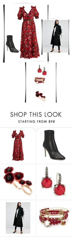 """""""Untitled #256"""" by izzystarsparkle ❤ liked on Polyvore featuring self-portrait, Jimmy Choo, Futuro Remoto, Stephen Dweck, ASOS and Alex and Ani"""