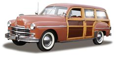 1949 Plymouth Special Deluxe Woody Station Wagon.