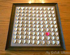DIY Wedding Guest Book | My Girlish Capricci