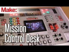 This is at least 85 kinds of WIN!   Making Fun: Mission Control Desk
