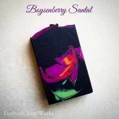 Boysenberry Santal Silk Soap Item description in progress...