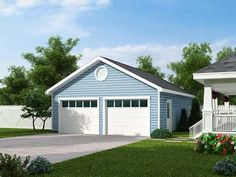 Perfect garage for my house. Actually in dark grey would make it more perfect. - Liz