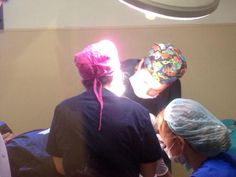 Hair transplant operation
