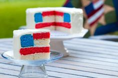 yummy;)  http://secretlifeofachefswife.com/anthologie/desserts/the-coolest-fourth-of-july-cake-ive-ever-seen