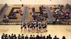 Enochs High School Cheer Varsity Senior Night Halftime 2014