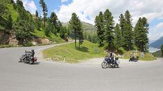 Traumhafte Motorradregion rund um Nauders am Reschenpass Special Deals, Golf Courses, Country Roads, Eagles, Vacation, Round Round