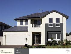 Kolor fasady do grafitowego dachu