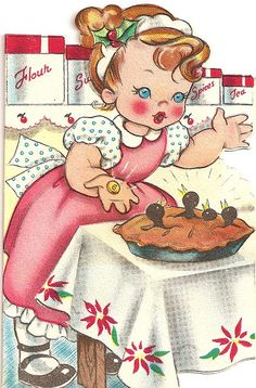 Cute vintage Christmas card
