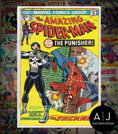 The #amazing spider-man #129 (i #marvel m) vg - vg+! high res #scans! ,  View more on the LINK: http://www.zeppy.io/product/gb/2/152412046332/
