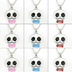 Bulk 9 Pcs Jack Skellington Nightmare Before Christmas Necklaces Kids Party Gift | eBay