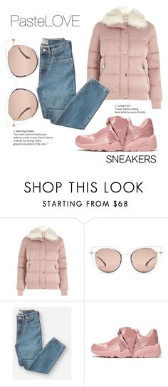 """""""PasteLOVE :)"""" by andzelika-niklewicz on Polyvore featuring River Island, Fendi, Everlane and Puma"""