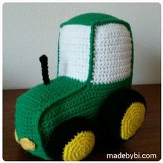 Ravelry: Traktor by Birgitte Haahr Hejlesen Crochet Baby Toys, Crochet Animals, Crochet Designs, Crochet Patterns, Baby Security Blanket, Kids And Parenting, Crochet Projects, Tractors, Diy And Crafts