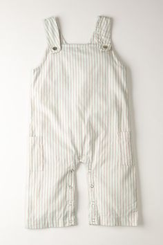 Pinstriped Coverall Jumpsuit . --- These are soo cute.
